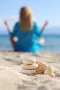 Beach, sand, stones