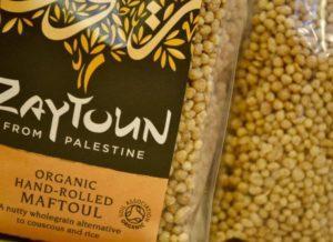 Palestinian organic maftoul - a hand-rolled, sun-dried grain